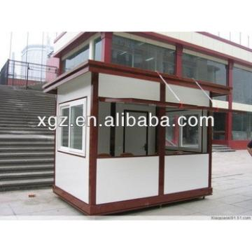 Modern design house prefabricated for kiosk