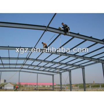 steel frame steel structure house villa building construction