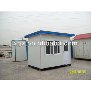 Flat roof steel structure prefabricated house
