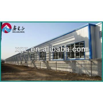 galvanized steel structure prefabricated warehouse in Africa