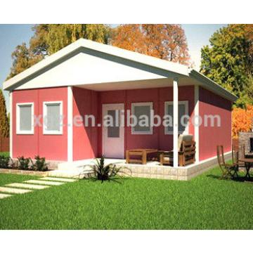 low cost modern prefab light steel house