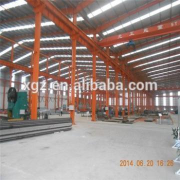 steel factory overhead crane Construction project steel structure workshop in africa
