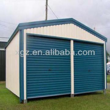 auto steel parking structure