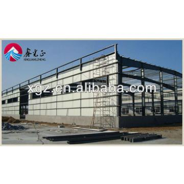 High quality pre fabricated buildings light steel structure warehouse
