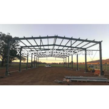 Prefabricated steel structure hay shed