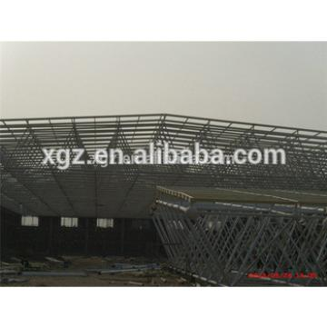Logistics Warehouse In Qingdao prefab car showroom structure warehouse