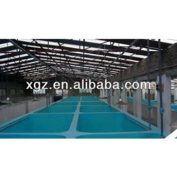 Indoor farm fishing warehouse