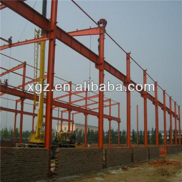 portal frame structure fireproof c steel beam steel space frame