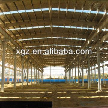 steel shade structure for workshop single span warehouse