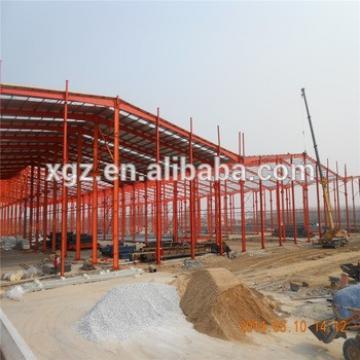 steel structure fabrication prefab steel farm warehouse light steel portal frame