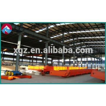 China Prefabricated Metal Beam Building Warehouse for Industrial Sheds