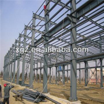 galvanized light steel steel structure factory in machinery