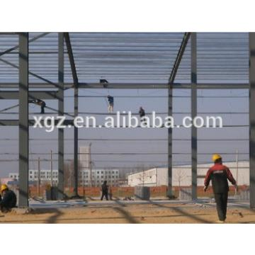 steel frame structure factory shed design