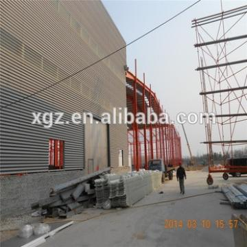 hot dip galvanized steel structure design galvanized structual steel warehouse