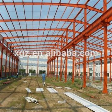 Steel Frame Prefabricated Warehouse Steel Frame Structure Building