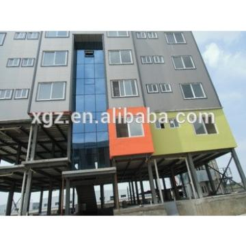 Low cost high rise steel structure building for hotel