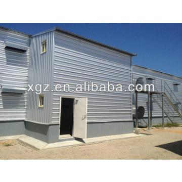 Low cost Automatic poultry farming design for broiler layer chicken house/shed