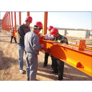 Professional Prefab steel structure workshop Design, manufacture & Preassembly