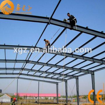 Light steel structure prefab building design for warehouse