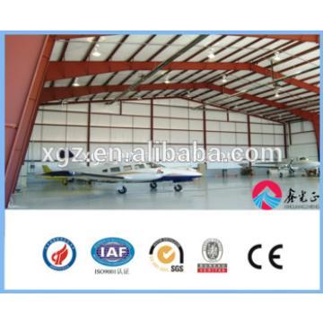 Prefabricated building large-span steel structure hangar