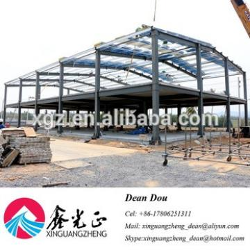 Low Cost Prefabricated Steel Structure Warehouse Workshop Shed Building