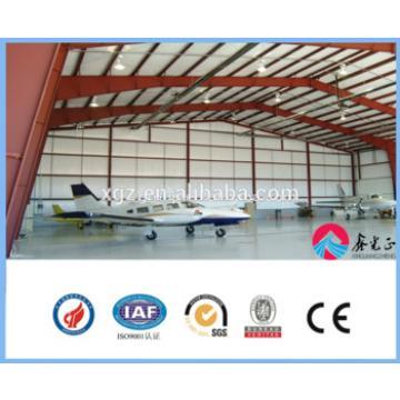 structural steel hangar