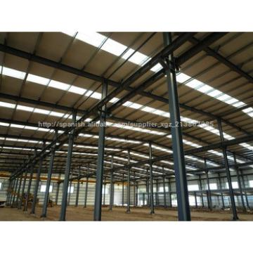Easy to install low cost prefab steel warehouse