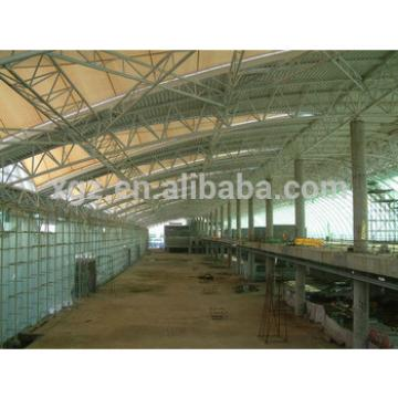 pre engineer steel roof structure