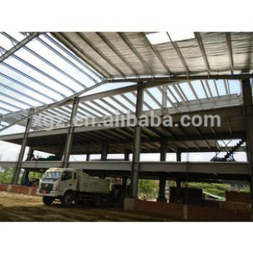 Light weight steel structure pre fabricated warehouse frame