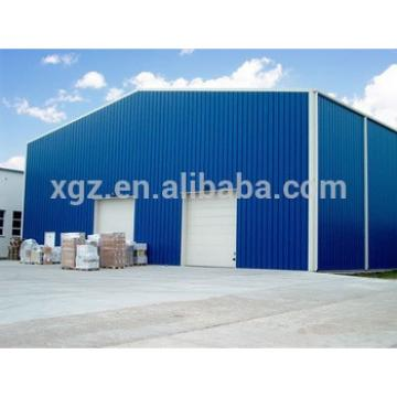 low cost 1000 sqm prefabricated steel warehouse for clothing