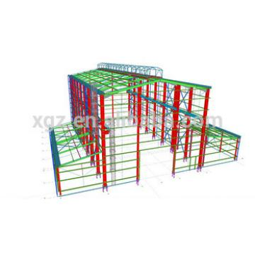 Shock Resistant High Quality Prefab Steel Frame Warehouse Shed