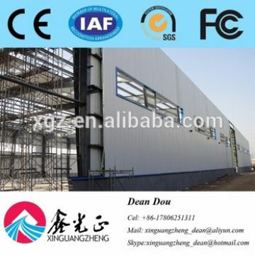 Low-price Professional Designed Large-span Steel Structure Industrial Warehouse Manufacturer China