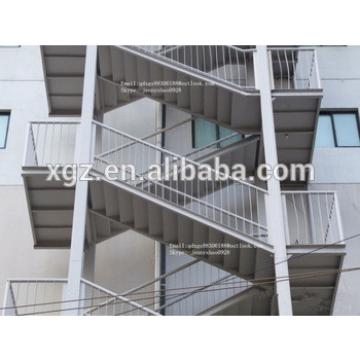 Steel structure simple stair used for warehouse,workshop,office,living house