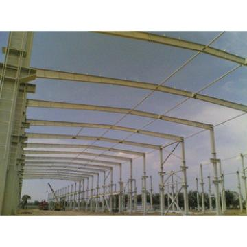 Pre-engineered steel warehouse with Q345 steel column and beam