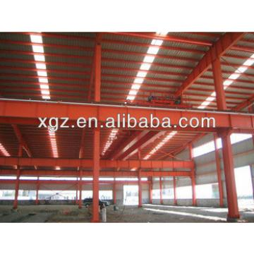 Pre-fabricated light steel structure warehouse with certification