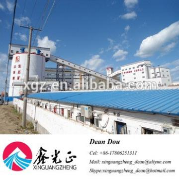 Low-price Professional Steel Structure Warehouse with Bridge Crane Design Manufacturer