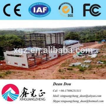 Low-price Professional Large-span Steel Structure Workshop Design Manufacturer