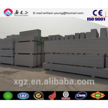 China supplier on building materials B05 AAC/ALC wall and roof panel