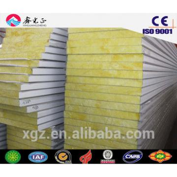 XGZ steel structure buildings materials roof and wall sandwich panel (EPS/Rockwool/fiberglass/PU)