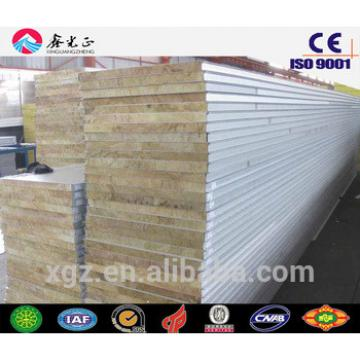 buildings materials EPS/fiberglass/rock wool roof and wall sandwich panel