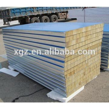 Rockwool sandwich panel for roof and wall
