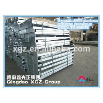 China XGZ galvanized sheet material steel structure building