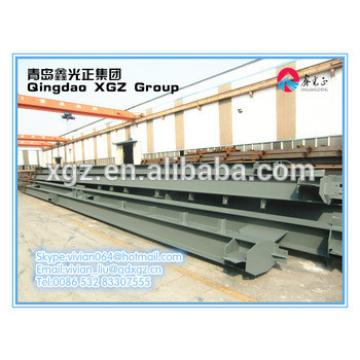 China XGZ top build H type and dip steel structure materials