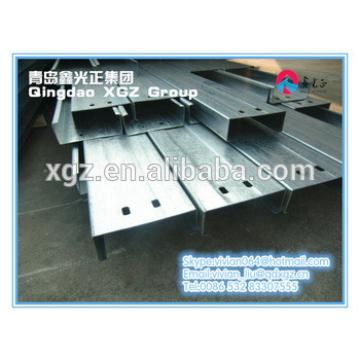 XGZ heavy duty C purlin structural steel fabrication