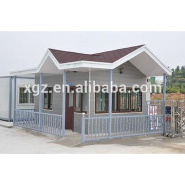 XGZ prefab house frame house steel structure materials