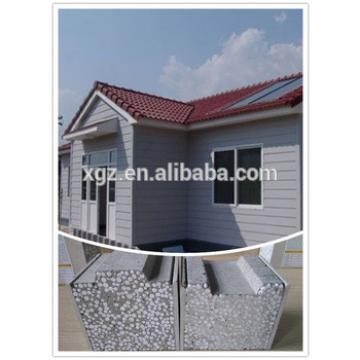 eco friendly lightweight construction material sound heat insulated eps cement sandwich panel