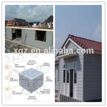 XGZ China prefab house used insulated panels price