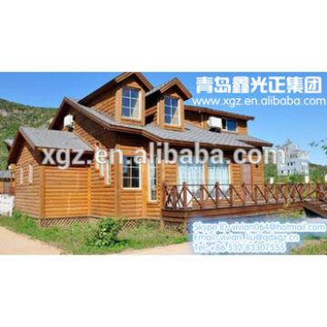 XGZ Green light frame prefab house made in china