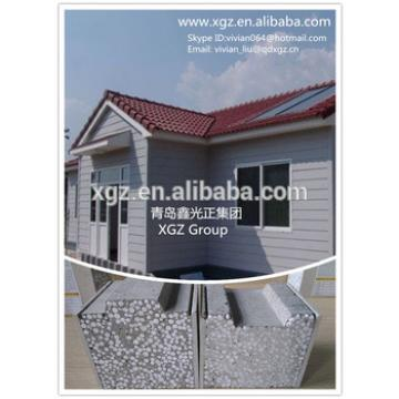 XGZ Economic prefab houses EPS sandwich cement panel