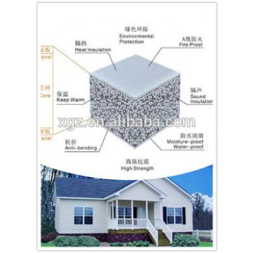 XGZ Fireproof wall board insulation building supplier